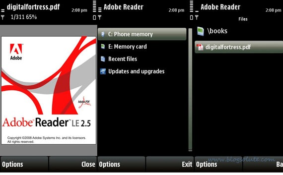 reader freeware for Symbian s60 3rd and 5th edition. Free